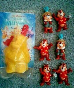 Vintage 1990 Disney CHIP & DALE RESCUE RANGERS Toy Figures & Monty - You Choose