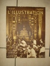 L ILLUSTRATION N°4612 25 JUILLET 1931 20 PAGES EXPOSITION COLONIALE CAMBODGE