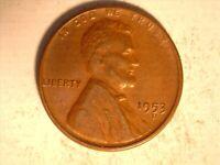 1953-D/D Lincoln Wheat Cent Penny  AU  Condition ~ .RARE!! -1024