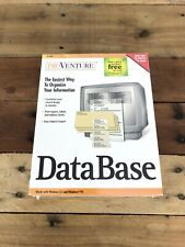 Pro Venture Data Base Professionl Tools For Small Businesses New Sealed