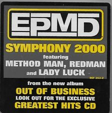 Business as Usual by EPMD CD Apr-2000 Def Jam USA