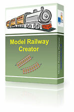 3D/2D Design & Build Model Railway Layouts Track Plans Software Hornby Gauge DVD