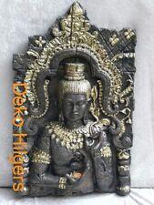 Buddha Maske Relief Bild Wandmaske Licht Dekoration Wandbild Teelichthalter F110