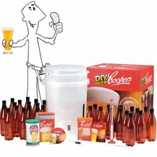 Coopers Premium Starter Micro DIY Home Brew Beer Lager Making Kit LATEST VERSION