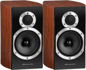 Wharfedale Bookshelf Speakers - Diamond 10.1 Rosewood Loudspeakers