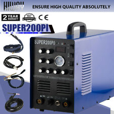 50A Plasma Cutter 7IN1  Portable Machine IGBT TIG/MMA Aluminium Welding Welder