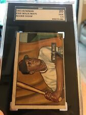 1951 Bowman Willie Mays Rc Graded