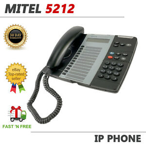 Mitel 5212 IP Dual Mode Business Office VoIP Phone Display PoE