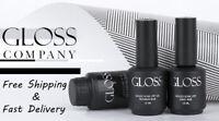 GLOSS Gel Nail Polish Base Top Coat No Sticky Matte Top Hard Base Primium %SALE%