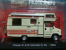 CAMPING CARS 1/43e - CAPUCINE PILOTE R470 Citroën C25 de 1984 #1