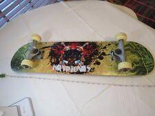 Kryptonics skateboard black panther RARE vintage skate board complete wheels VTG
