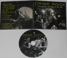 Crime Rock  Live At the Whiskey a Go Go  U.S. promo cd, digipak cover