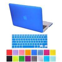 """Rubberized Hard Case + Keyboard Cover For Apple Macbook Pro 15"""" Retina A1398"""