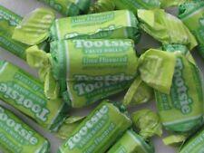 Tootsie Roll Lime Fruit Chews Candy Half Pound ~ 8oz