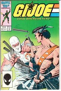 GI Joe ARAH (1982 Series) #52 September 1986 Marvel VG/FN 5.0