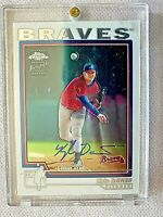 2004 Topps Chrome Kyle Davies Atlanta Braves Certified Autograph Card #228