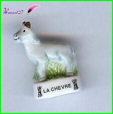 """Feve Animaux de la Ferme Edition Atlas """" La Chévre """" goat Ziege #B19"""
