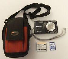 Fujifilm FinePix JZ250 16.0MP Digital Camera - Black - Bundle