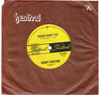 "BARRY CROCKER - PLEASE DON'T GO - 7"" 45 VINYL RECORD - 1969"