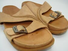 Timberland Smart Comfort System Women's Leather Sandals Size 7M Tan