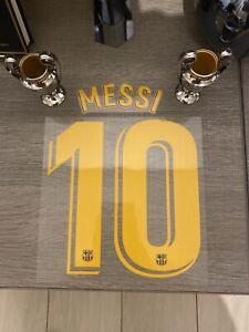 Flocage Officiel Enfant ( Children ) Stadium Fc Barcelone Messi