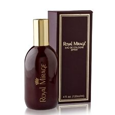 Royal Mirage Perfume Eau de Cologne Scent Assorted Fragrances  - 120 ml