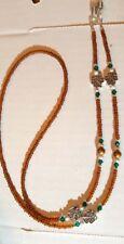 Swarovski Crystals Eyeglass Chain ! ! Irish Shamrock Celtic Made With