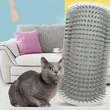 Cat Self Groomer Wall Brush Corner Cat Massage Self Groomer Comb Cat Mint Powder