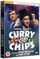 Curry and Chips: The Complete Series DVD (2010) Spike Milligan, Beckett (DIR)
