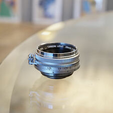 [CLA'd]Near Mint Canon 28mm f/2.8 Wide Angle Lens for Leica Screw Mount LTM/M39