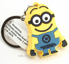 NEW Universal Studios Despicable Me Minion Dave Suction Cup Keychain