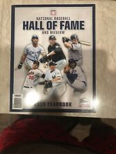 2019 National Baseball Hall Of Fame Yearbook New