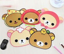 Korea Stationery Cartoon Cute Animal Slip-resistant Mouse Pad ~Random~ 1pc