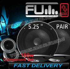 "FLI Underground FU5C Comp 5.25"" 130mm 180w Car Door Component Speakers Set Pair"