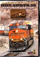 Hot Spots 26 Kingman Canyon Arizona DVD NEW Highball BNSF Transcon stack trains
