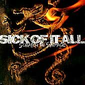 Sick of it All - Scratch the Surface CD New NOT Sealed Free P&P