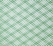 30x30cm PLASTIC NET STRONG GREEN FLEXIBLE HDPE INSECT FISH MESH SCREEN FINE 2mm