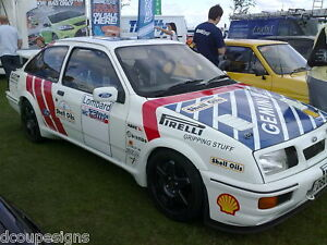 SIERRA COSWORTH - WORLD RALLY GRAPHICS / DECALS / KIT