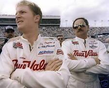DALE EARNHARDT SR. & JR. NASCAR 8X10 SPORTS PHOTO #80