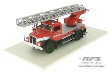IFA S 4000-1 DL25 - Feuerwehr Leiterwagen mit Drehleiter DDR - 1:43 - AL FW-086b