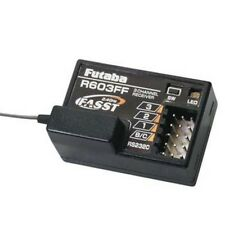 Futaba R603FF 2.4GHz FASST 3ch Receiver (radio:3PM,3PKS,3VCS,3GR,4PK,4PKS,4PKSR)