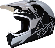 NOS Z1R Rise Youth Helmet S/M White/Black Motorcross ATV