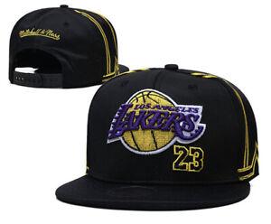 Los Angeles Lakers Snapback Baseball Cap Sport Hat NBA Basketball Lebron James