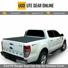 Ford PX Ranger Dual Cab Clip On Tonneau, Without Sports Bar, Nov 2011 - Curr