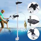 Universal Portable Transducer Fishfinder Mount Bracket 360° Aluminum Alloy USA