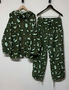 Original Red Dawn Spoonflower Camo Pattern Smock & Trousers