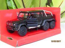 Welly NEX 1/34-1/39 Die cast Car Mercedes-Benz G 63 AMG 6x6 SUV Truck (Black)