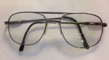 Looking Glass Eyeglasses FRAMES 8044 Matte Pewter Aviator 54[]18 145 Korea