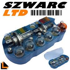 H4 Light Bulb Kit Set Emergency Fuse Car Spares 30 Pcs 233 Ba9s 382 380 Bayonet