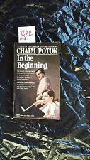 in the beginning di chaim potok ATT libro in inglese